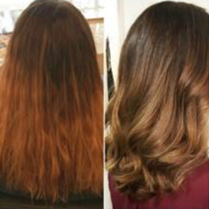 Balayage in Amsterdam at day&night hairdressers